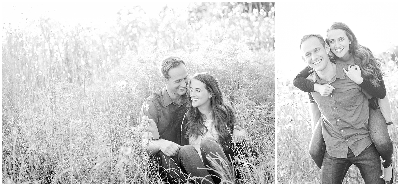 Matt + Alysha. Spring Engagement Photographer.