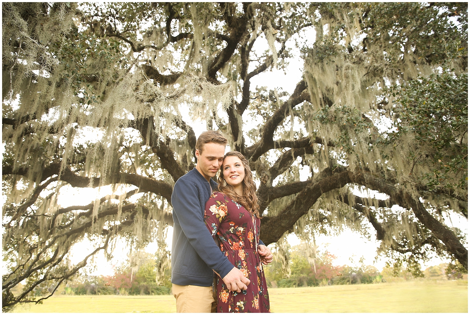 Engagement Photography, Southern Engagement Photography, Spanish Moss, romantic engagement photography