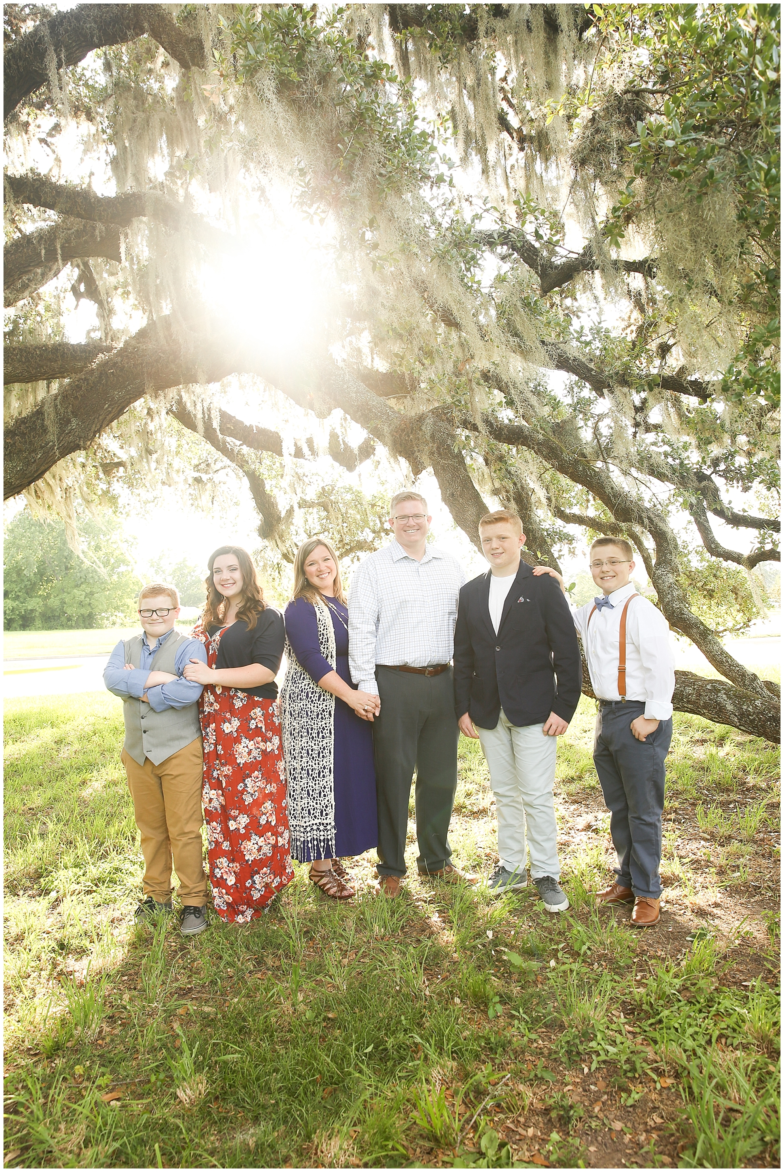 Rasmussens. The Woodlands Family Photography.
